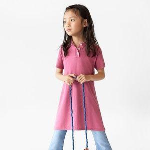 Knit Polo Dress